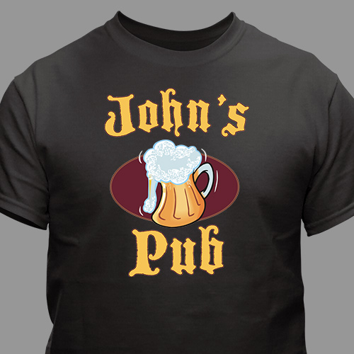 Personalized Cold Beer Pub T-Shirt 31808x