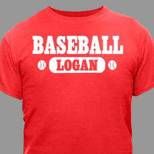 Personalized Sports T-shirt