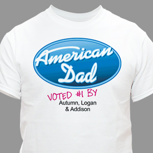 Personalized American Dad T-shirt | Personalized T-shirts