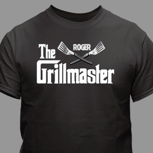 Personalized Grillmaster T-Shirt 32846x