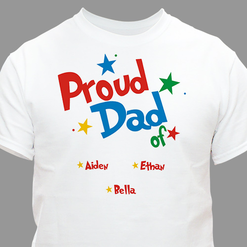 Personalized Father's day T-Shirt - Best We Ever Saw | Personalized T-shirts