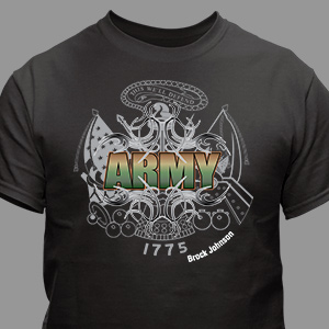 Personalized Army T-Shirt | Personalized T-shirts