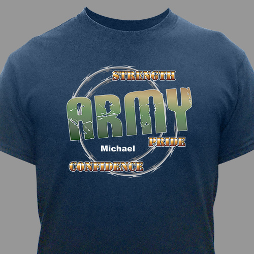 Personalized Army Pride T-Shirt | Personalized T-shirts