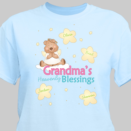 Personalized Heavenly Blessings T-Shirt 33629X