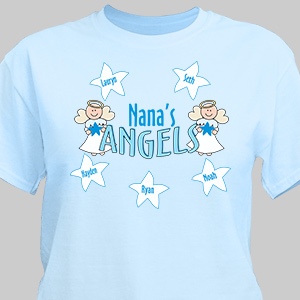 Angels Personalized T-Shirt 33635X
