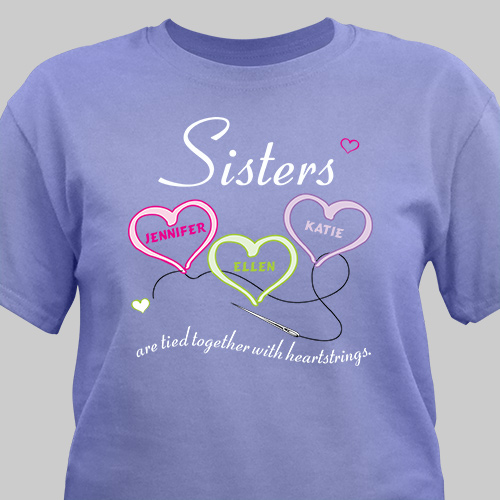 Personalized Sister Gifts | Personalized Sister Shirt