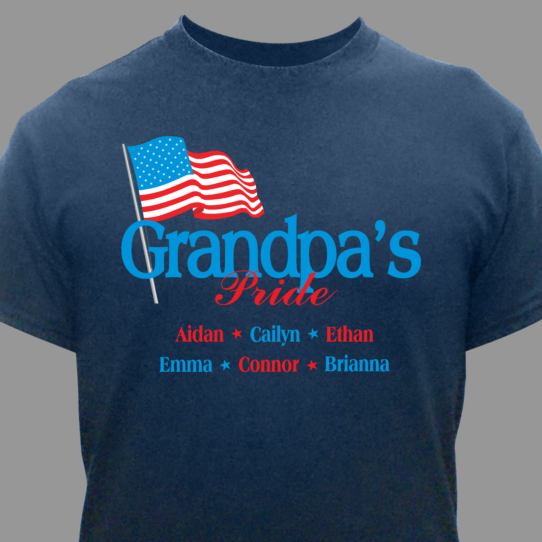 Personalized USA Pride T-Shirt 33833X