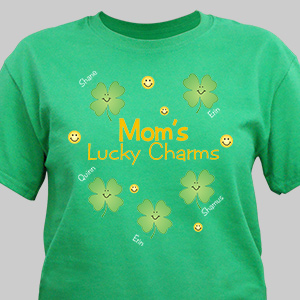 Personalized Lucky Charms T-Shirt | St. Patrick's Day Shirts