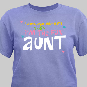 Personalized I'm Fun T-Shirt | Personalized T-shirts