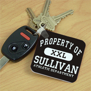 Personalized Property Of Key Chain 338520