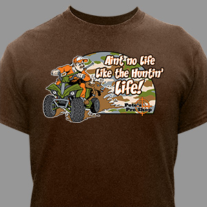 Personalized Huntin' Life T-Shirt | Personalized T-shirts