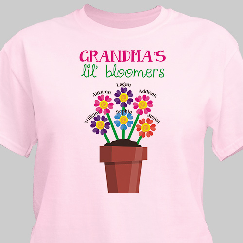 Personalized Lil' Bloomers T-Shirt 35580X