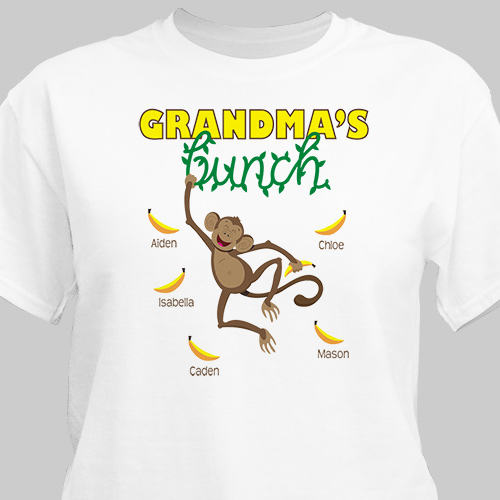 Personalized Monkey Bunch T-Shirt 35581X