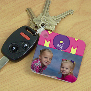 Personalized Mom Of Photo Key Chain 365640