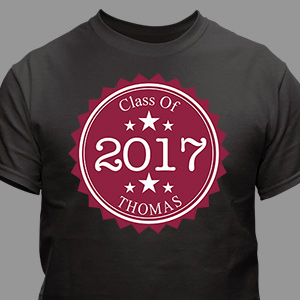 Personalized Graduation T-Shirt 36626X