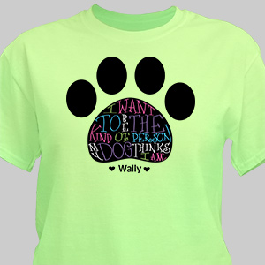 Personalized Dog Owner T-Shirt | Personalized T-shirts