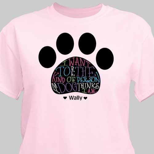 Personalized Dog Owner T-Shirt 36657X