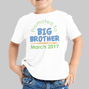 Personalized Big Brother T-Shirt | Big Brother Gifts