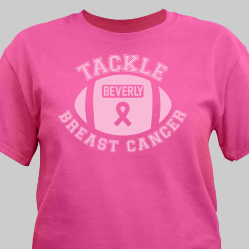 Breast Cancer Personalized T-Shirt | Personalized T-shirts