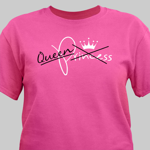 Personalized Queen T-Shirt 37284X