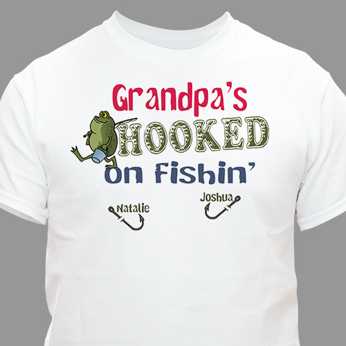 We're Hooked on Fishing T-Shirt