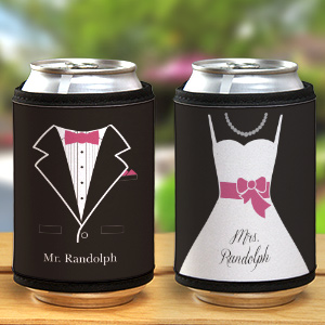 Personalized Wedding Can Wrap 377259