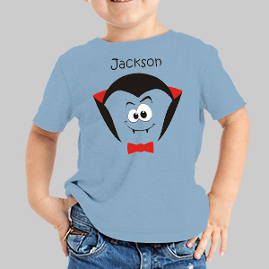 Personalized Halloween Dracula T-Shirt 37817DRACX