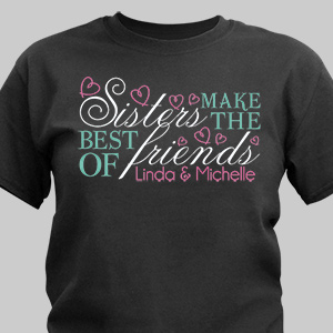 Sisters Friendship T-Shirt 37826X