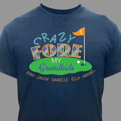 Golf Personalized T-Shirt 37851X