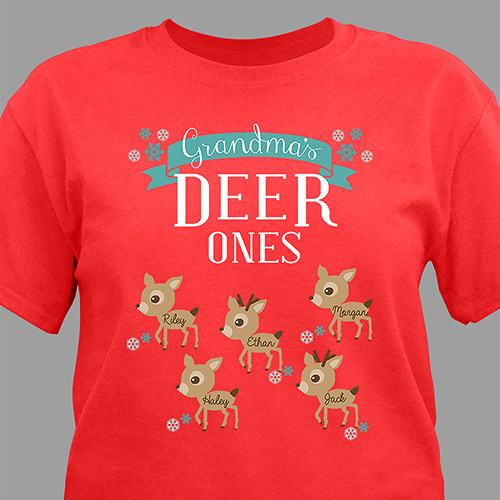 Deer Ones Shirt | Personalized Christmas Shirts