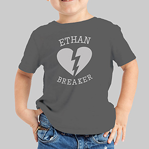 Heartbreaker Personalized T-Shirt