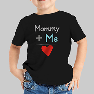 Personalized Plus Me Kid's Valentine Apparel 39986X