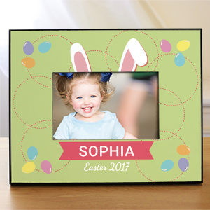 Personalized Bunny Ears Kids Photo frame 4100030