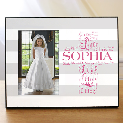 First Communion Personalized Frame | First Communion Picture Frames