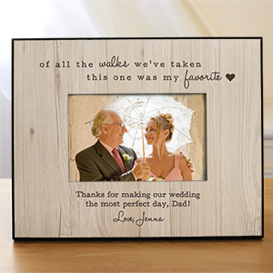 Personalized Favorite Walk Wedding Frame 4104390
