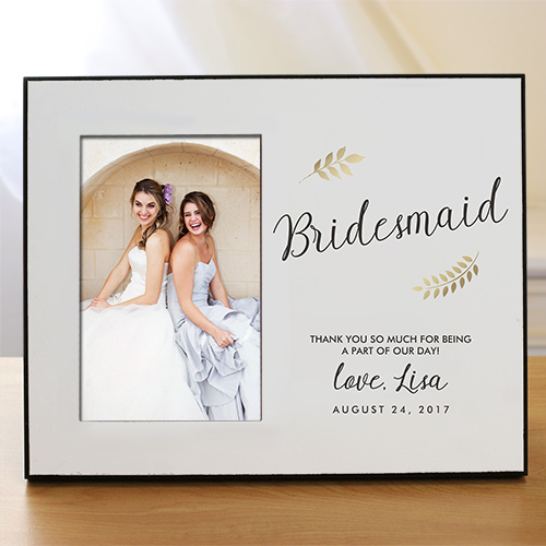Personalized Bridesmaid Frame 4104496