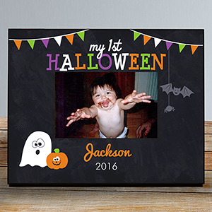 Personalized First Halloween Frame