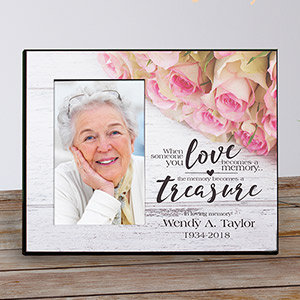 Personalized Memory Becomes a Treasure Memorial Printed Frame