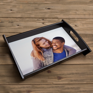 Custom Printed Digtial Picture Serving Tray | Valentine's Day Gifts Under 25