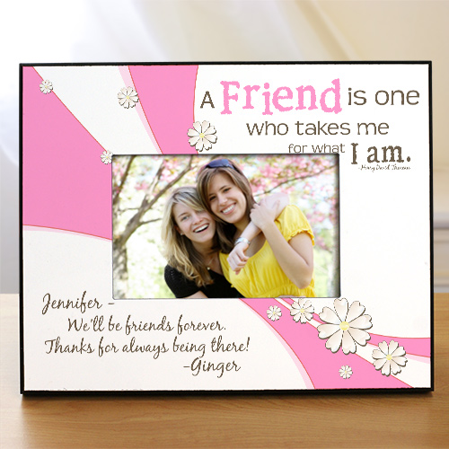 Friendship Personalized Printed Frame | Personalized Picture Frames