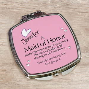 Memories Personalized Compact Mirror 428709