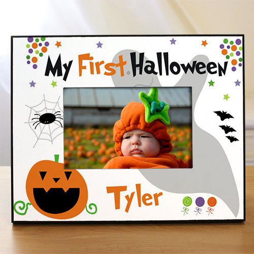 My First Halloween Printed Frame | Personalized Picture Frames