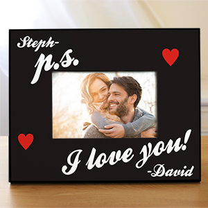 P.S. I Love You Personalized Picture Frame | Personalized Picture Frames
