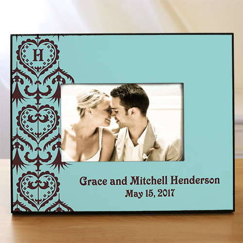 Custom Printed Wedding Picture Frame | Personalized Picture Frames