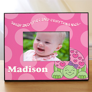 Personalized Turtle Printed Frame 439280