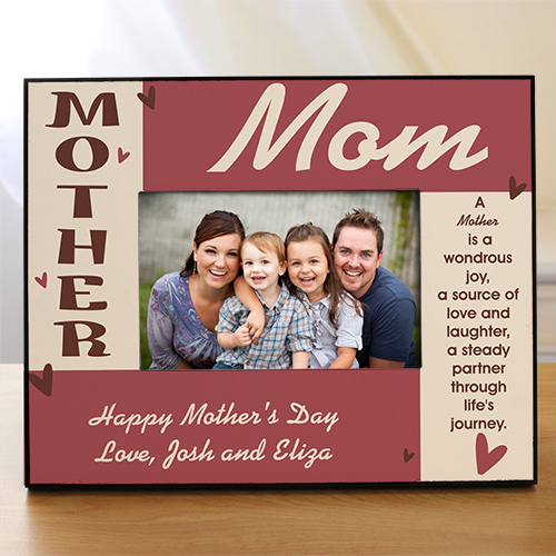 Personalized Mother Printed Frame | Personalized Picture Frames