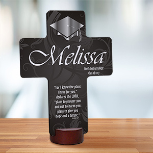 Personalized Graduation Blessing Cross Keepsake 442507