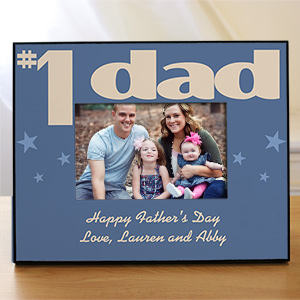 Personalized Number One Parent Printed Picture Frame 442790