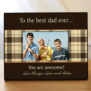 Personalized Any Message Printed Picture Frame 442990