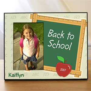 Personalized Back To School Printed Frame 444886